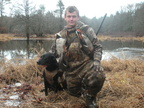 Brendan Gardner Duck hunt